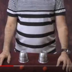 לימוד קסמים - כוסות וכדורים