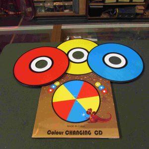 קסמים - תקליטורים מחליפי צבע